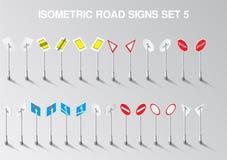 A estrada isométrica do vetor canta o grupo para nosso próprio cidade ou infographics Imagens de Stock Royalty Free