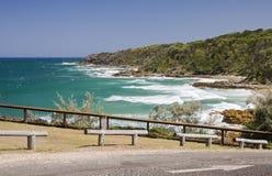 Estrada litoral Imagens de Stock