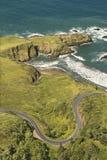 Estrada litoral. Foto de Stock Royalty Free
