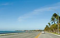 Estrada litoral de Key West foto de stock royalty free