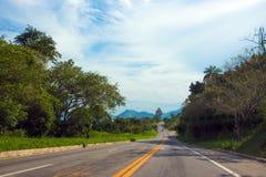 Estrada litoral em Brasil imagem de stock royalty free