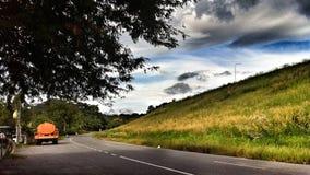 Estrada local Imagens de Stock