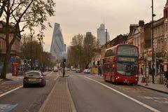 Estrada Londres do leste de Whitechapel Imagens de Stock Royalty Free