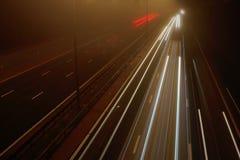 Estrada M5 em Worcester Imagem de Stock Royalty Free