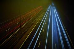 Estrada M5 em Worcester Foto de Stock