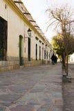 Estrada, mangueira colonial em Cachi Imagens de Stock
