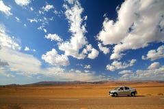 Estrada marroquina Fotografia de Stock Royalty Free