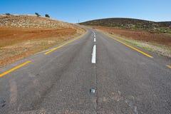 Estrada Meandering imagens de stock royalty free