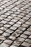 Estrada medieval velha do godo do granito Fotografia de Stock Royalty Free