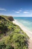 Estrada Melbourne Austrália do oceano da entrada de Aireys grande Foto de Stock Royalty Free