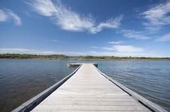 Estrada Melbourne Austrália do oceano de Anglesea grande Foto de Stock Royalty Free