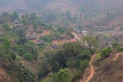 43 estrada, Moc Chau, Son La Foto de Stock