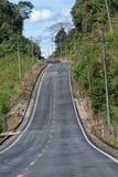 Estrada na área das Amazonas de Equador Imagem de Stock Royalty Free