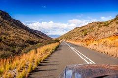 Estrada na aventura Fotos de Stock