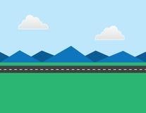 Estrada na distância Imagens de Stock
