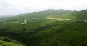 Estrada na montanha Fotos de Stock Royalty Free