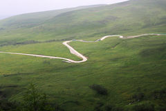 Estrada na montanha Imagem de Stock Royalty Free