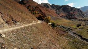 Estrada nas montanhas de Geórgia video estoque
