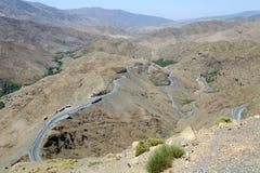 Estrada nas montanhas do Anti-Atlas Imagens de Stock