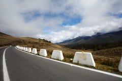 Estrada nas montanhas em Merida imagem de stock royalty free