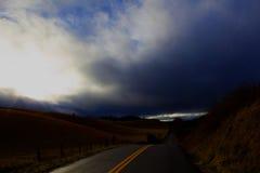 A estrada a nenhum retorno Fotografia de Stock