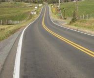 Estrada no campo em Virgínia Foto de Stock