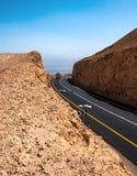 Estrada no deserto Imagens de Stock