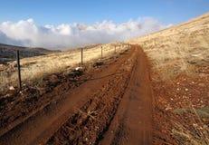 Estrada no EL Sawda de Qornet, Líbano Imagens de Stock