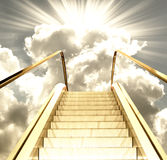 Estrada no paraíso Imagem de Stock Royalty Free