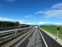 Estrada norueguesa Imagem de Stock