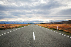 Estrada a Nova Zelândia foto de stock