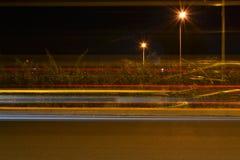 Estrada ocupada da noite Imagem de Stock