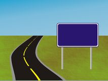 Estrada ou passeio a? Fotografia de Stock Royalty Free