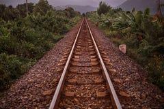A estrada para encontrar aventuras Imagens de Stock Royalty Free