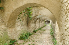 Estrada para fortificar o Dungeon imagens de stock royalty free