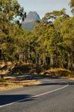A estrada para montar Beerwah (montanhas da estufa) fotos de stock