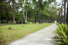Estrada para pedestres e bicicleta Imagens de Stock Royalty Free