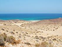 A estrada para a praia Fotos de Stock Royalty Free