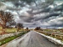 Estrada pavimentada Imagem de Stock