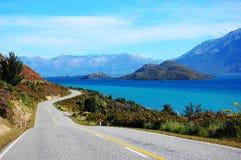 Estrada pelo mar Fotografia de Stock Royalty Free
