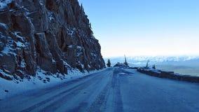 Estrada perigosa Foto de Stock Royalty Free