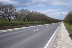 Estrada principal Fotografia de Stock
