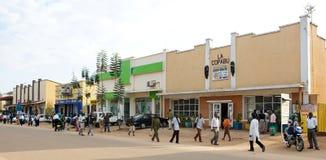 Estrada principal em Butare, Rwanda Fotos de Stock