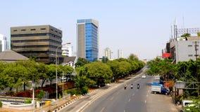 Estrada principal na cidade grande Fotos de Stock