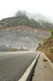 Estrada a quarry Foto de Stock Royalty Free