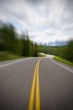 Estrada rápida Foto de Stock