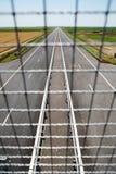 Estrada recentemente construída Foto de Stock