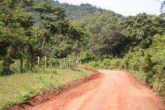 Estrada remota Imagem de Stock