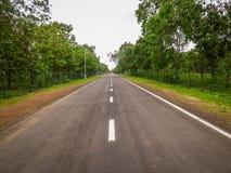 Estrada reta Imagem de Stock