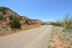 Estrada rochosa Imagem de Stock